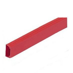 Red mini trunking 25 x 16mm 3m length