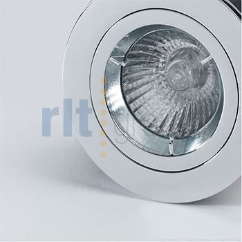 FROME - 12V MR16 Halogen Downlight Chrome, Fixed Bezel