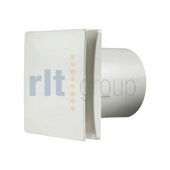 100mm Tile Axial Fan with humidistat