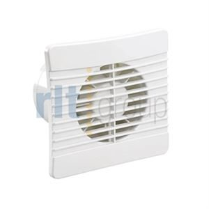 100mm Low Profile Axial Fan with timer and humidistat