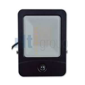 DENTAR 50w LED Floodlight IP65 Aluminium with PIR
