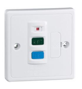 RCD Fused Spur 13A White